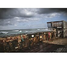 Troubled Sea Photographic Print