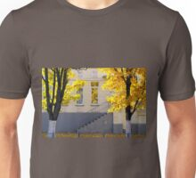 Urban autumn scene Unisex T-Shirt