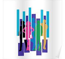 PTX Album Cover Silhouettes Poster