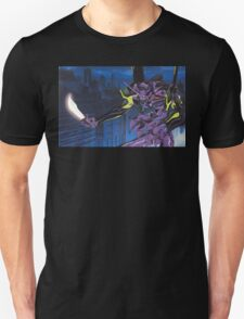 Neon Genesis Evangelion - Unit-01 Knife (Cleaned) Unisex T-Shirt