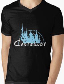 Canterlot Mens V-Neck T-Shirt