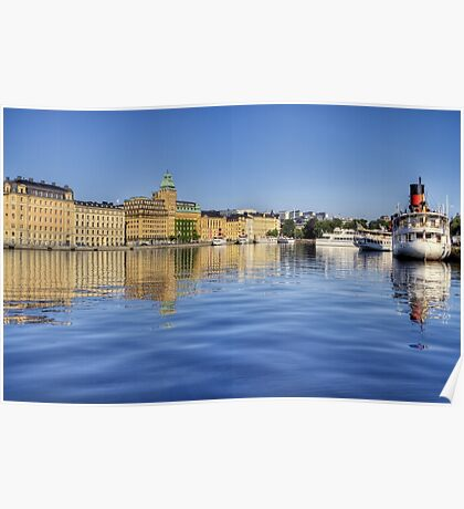 Stockholm view. Poster