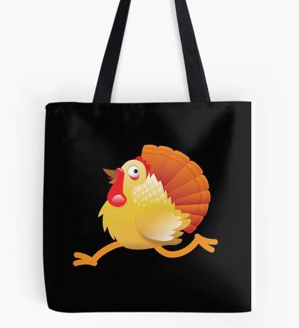(NEW) Turkey bird running Tote Bag
