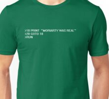 /RUN FILE:MORIARTY Unisex T-Shirt