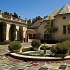 Greystone Mansion & Courtyard by Celeste Mookherjee