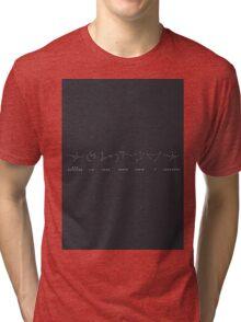 BTS/Bangtan Sonyeondan - Constellation of Sun Signs Tri-blend T-Shirt