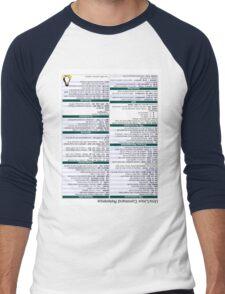 Linux Cheat Sheet Shirt Men's Baseball ¾ T-Shirt