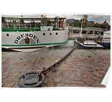 PD-Dresden  steam powered Riverboat Poster