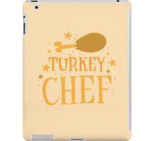 TURKEY chef iPad Case/Skin