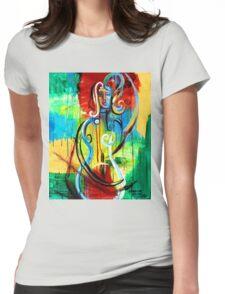 Woman Bass Womens Fitted T-Shirt