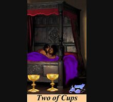 TWO OF CUPS Womens Fitted T-Shirt