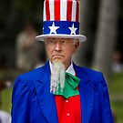 Uncle Sam at the St. Patricks Day Parade by Alex Preiss