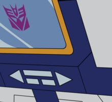 Soundwave - stickers (mirror image) Sticker