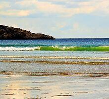Surf at Good Harbor Beach:  Gloucester,  Mass by john forrant