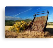 A Reminder Of The Past Canvas Print