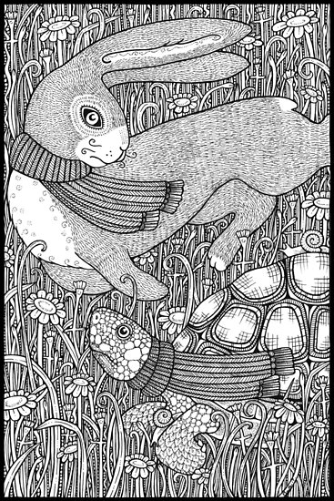 The Tortoise and the Hare by Anita Inverarity