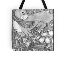 The Tortoise and the Hare Tote Bag