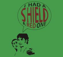 Hal had a shield! A red one! by livia4liv