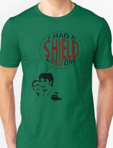 Hal had a shield! A red one! T-Shirt