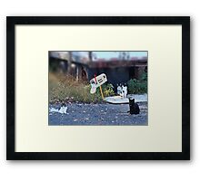 Mouse Patrol Framed Print