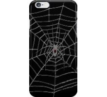 Black Widow Web Case iPhone Case/Skin