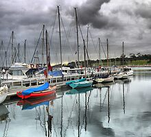 Calming at Geelong by Larry Lingard-Davis