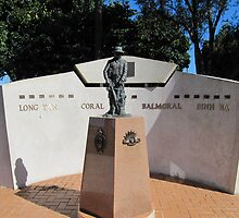 Poignant War Memorial at Grafton, New South Wales. by Rita Blom