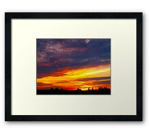 A Canon moment Framed Print