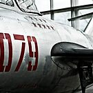 Seattle - Mikoyan & Gurevich MiG-15bis at Museum of Flight by Kaitlin Kelly