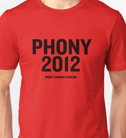 PHONY 2012 - Phony2012 Main Logo Unisex T-Shirt