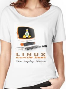 Linux Worlds Best - The Peoples Choice Women's Relaxed Fit T-Shirt