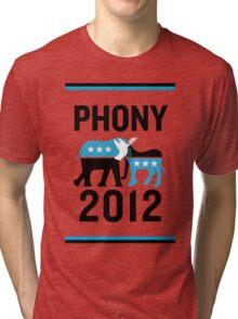 """PHONY 2012 - """"PHONY 2012"""" Poster Design v2 Tri-blend T-Shirt"""