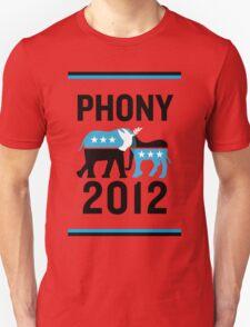"PHONY 2012 - ""PHONY 2012"" Poster Design v2 T-Shirt"