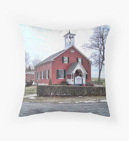 Mt. Zion Episcopal Church Throw Pillow