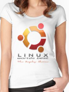 Ubuntu - The Peoples Choice Women's Fitted Scoop T-Shirt
