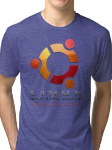 Ubuntu - The Peoples Choice Tri-blend T-Shirt