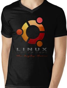 Ubuntu - The Peoples Choice Mens V-Neck T-Shirt