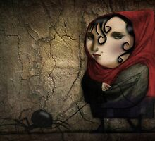 Little Miss Muffet by Rookwood Studio ©