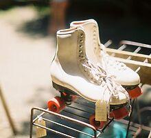 Vintage Roller Skates  by dominiquefilm