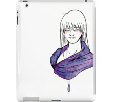 Purple Drop iPad Case/Skin