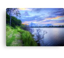 Another Lonesome Sunset Canvas Print
