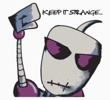 Strange People Purple by SlowIzzm