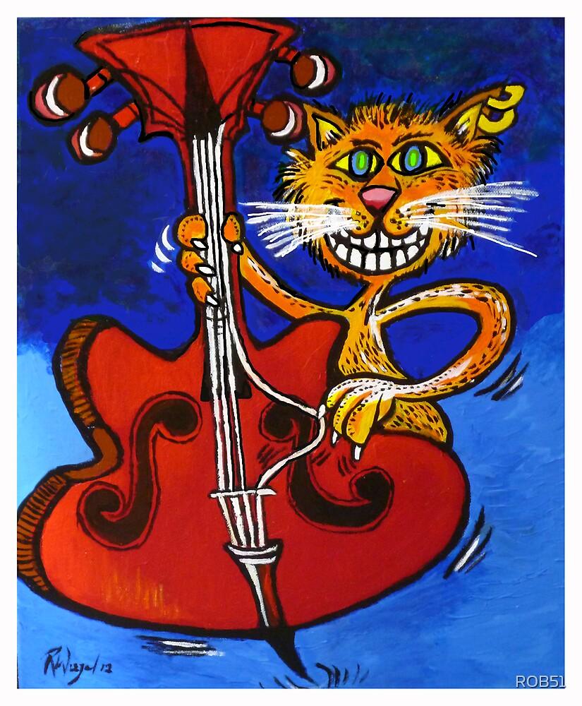 BASSY CAT by ROB51