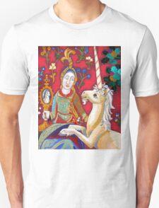 Lady & The Unicorn (La Vue) Unisex T-Shirt
