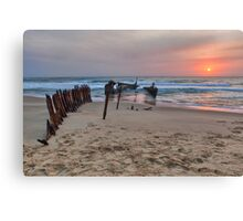 Dicky Beach • Caloundra • Queensland Canvas Print