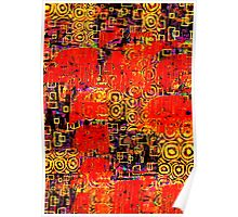 Abstract Collage x1 Poster