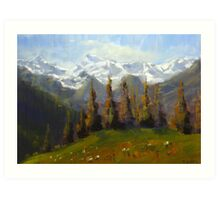 Swiss Afternoon Art Print