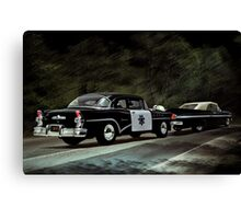 Highway Patrol Canvas Print
