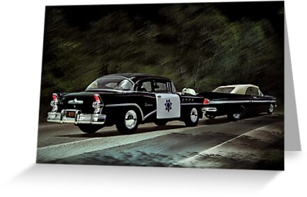 Highway Patrol by Steven  Agius
