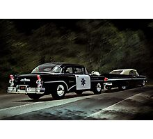 Highway Patrol Photographic Print
